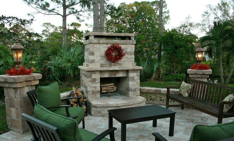 Tampa Bay Outdoor Kitchen Outdoor Living Fire pits Fireplaces