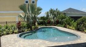 013 - Freeform Pool with Beach Entry