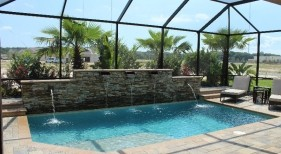 022 - Classic Pool with Raised Scupper Wall