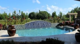 027 - Classic Pool with Raised Scupper Wall