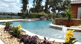 033 - Freeform Pool and Spa with Bubblers
