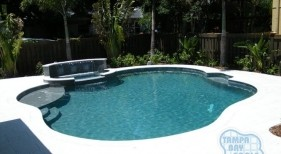 097 - Freeform Pool and Spa