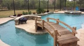 262 - Freeform Pool with Island
