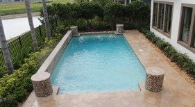 273 - Classic Pool with Raised Wall