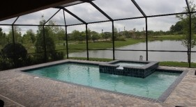 274 - Covered Classic Pool and Spa