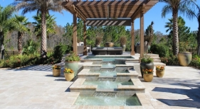 3009 - Tiered Square Spa with Bubblers
