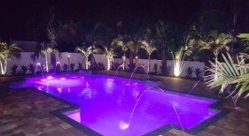 1029 - Classic Pool with LED Lighting and Deck Jets