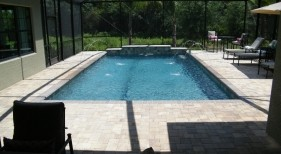 1031 - Classic Pool with Raised Wall