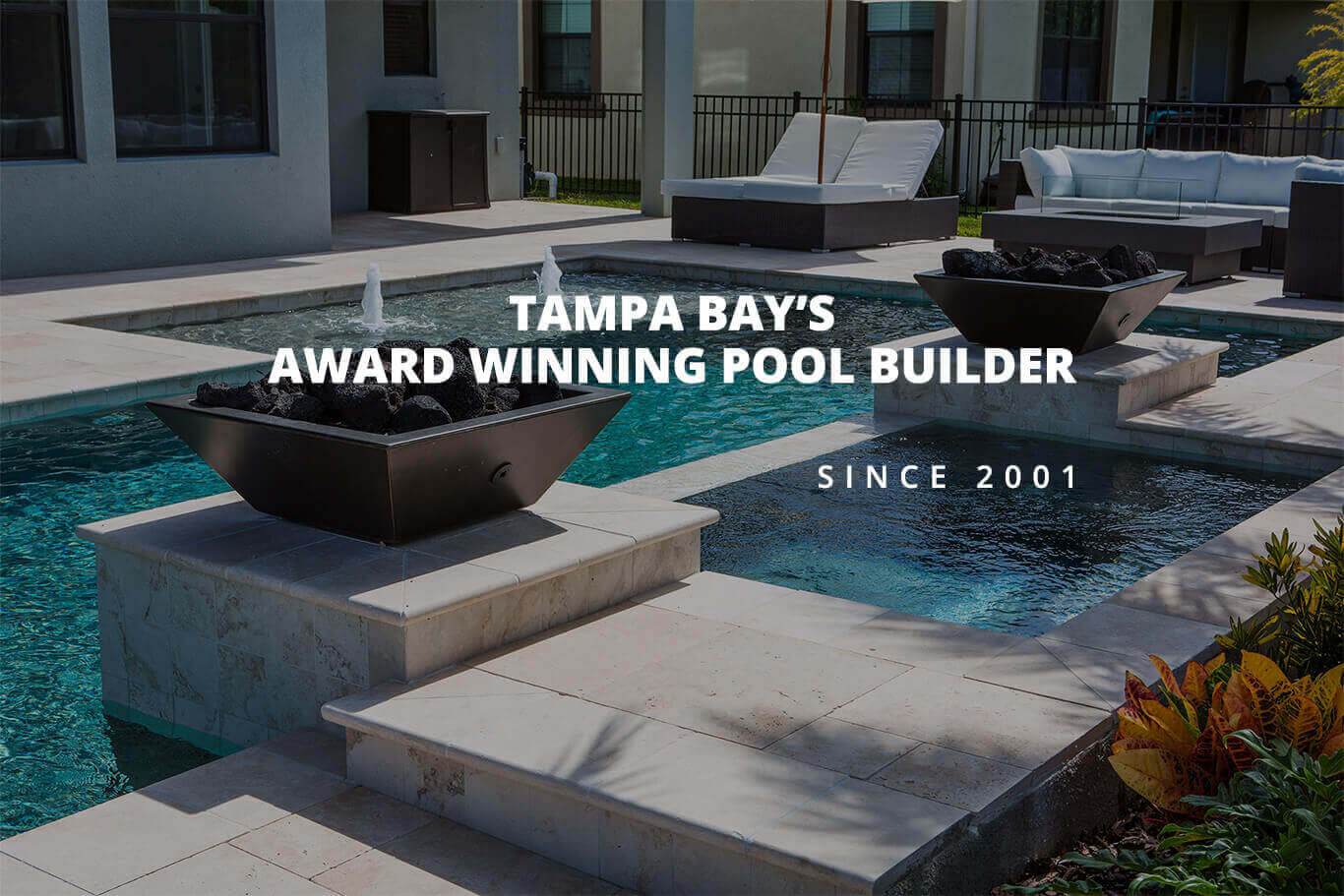 Pool Builder Tampa Bay Award Winning