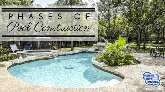 phases of pool construction