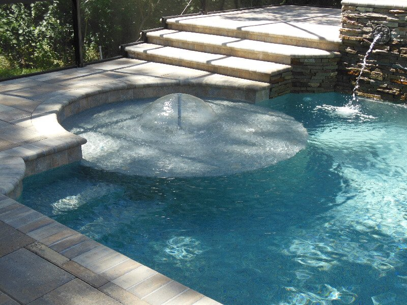 The Perfect Water Features For Pools of Different Sizes