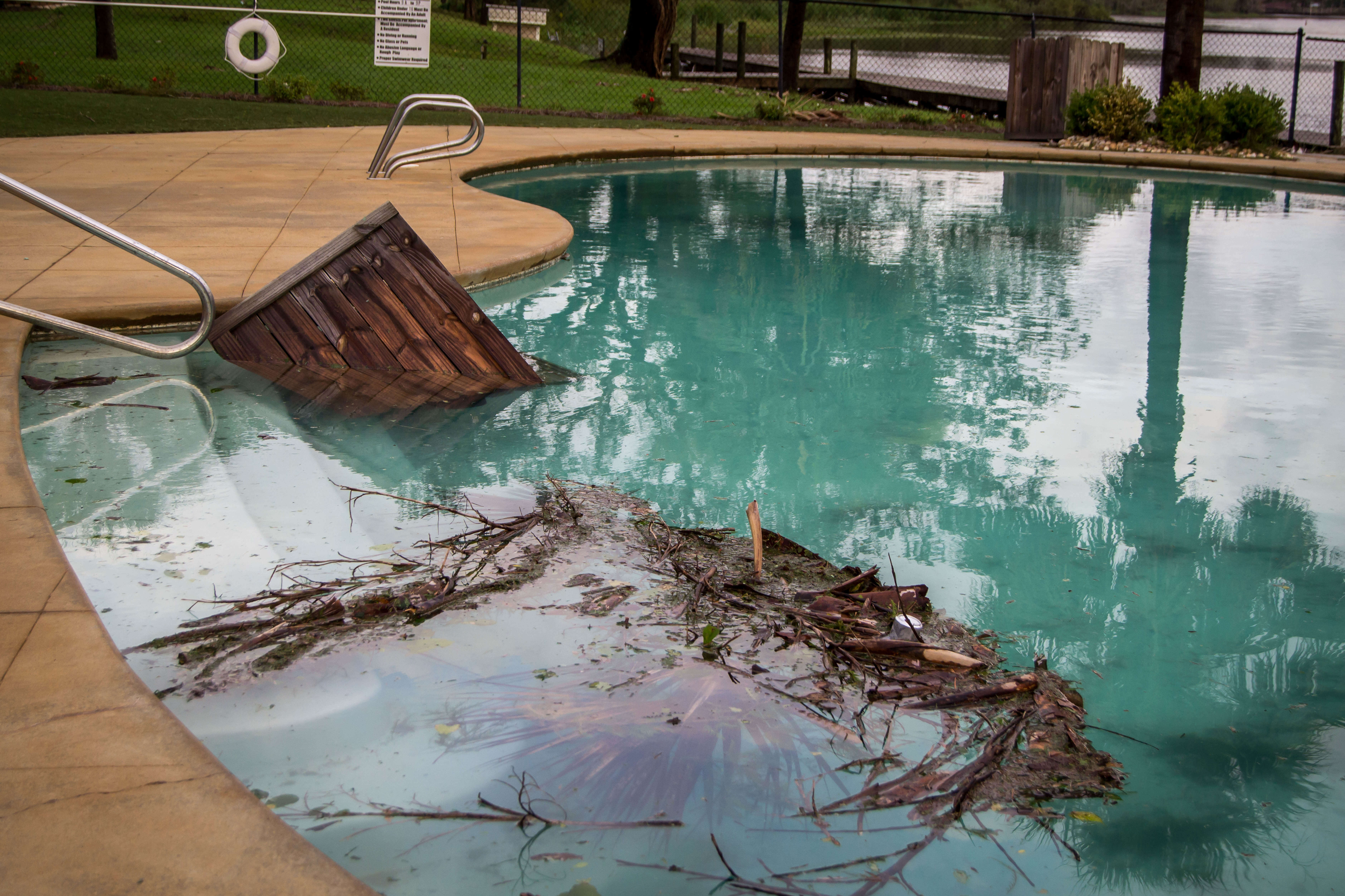 7 Steps for Preparing Your Pool for a Hurricane